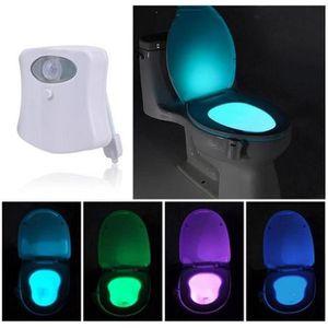 SET ACCESSOIRES Lampe de Toilette Veilleuse LED Détecteur de Mouve