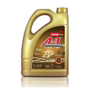 HUILE MOTEUR Petromin A-1 Super Synthetic Oil SAE 5W30 SN, Huil