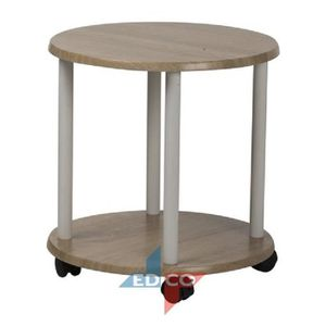 TABLE D'APPOINT Table ronde 40x40x41cm MDF