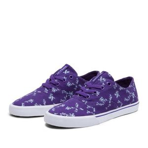 SKATESHOES Shoes SUPRA WMNS WRAP PURPLE / BLUEGRASS - WHITE