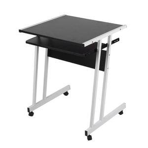 PLAN DE TRAVAIL Amovible Bureau Table d'ordinateur avec support pl