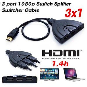 REPARTITEUR TV SAVFY® HDMI Répartiteur Switch Commutateur avec Câ