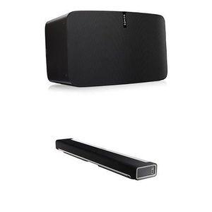BARRE DE SON Sonos PLAY:5 Enceinte Multiroom WiFi Noir + Barre