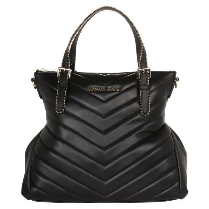 ARMANI - Sac A Main Noir - Femme Noir - Achat   Vente sac à main ... 4bb09adfcca