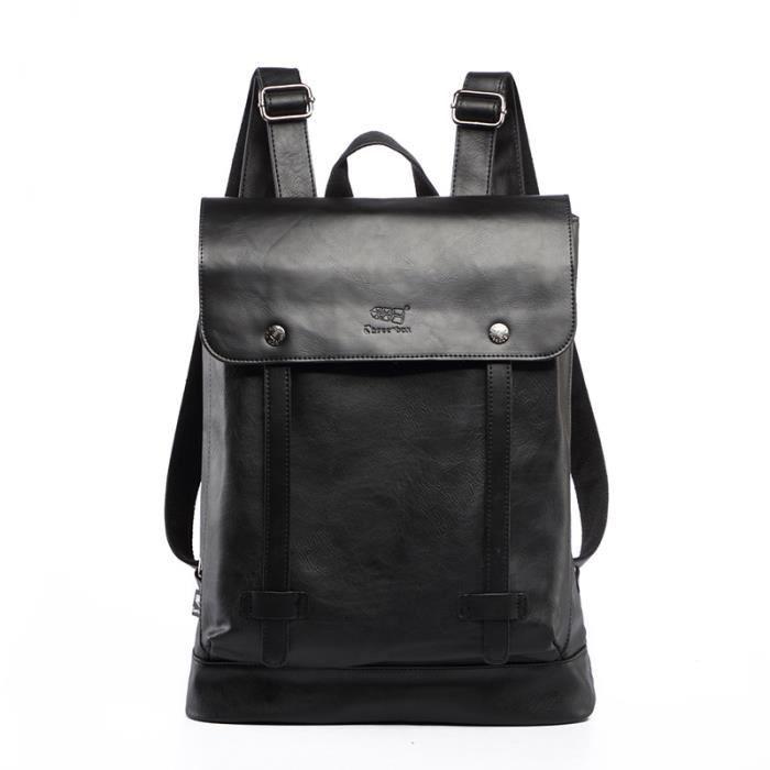 sac à dosDesigner Hommes Mode cuir Backpackgs Homme Vintage School Sacs pour ordinateur portable étudiant Bolsa-452