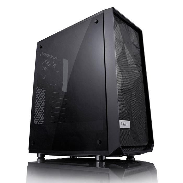 BOITIER PC  FRACTAL DESIGN Boitier PC Meshify C Blackout Tempe