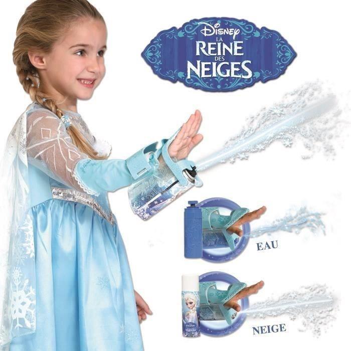 DÉGUISEMENT - PANOPLIE LA REINE DES NEIGES Gant Magique Elsa Lance Glace