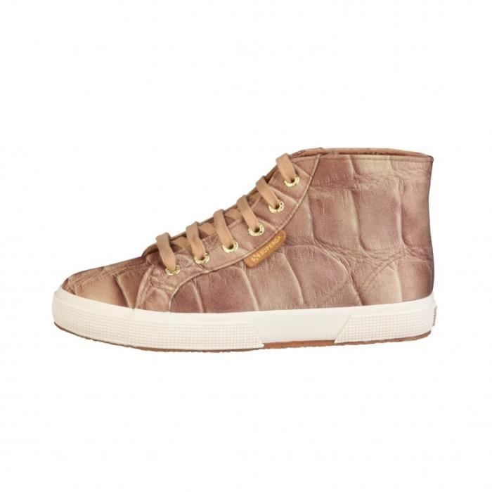 Basket - Superga - sneakers pour Femme brun Superga S009Y20-2095-625-GOLDENBEIGE