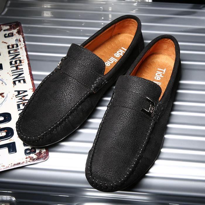 Chaussures pois jeunes/Chaussures de sport pour hommes /Pied chaussures de conduite/Respirants chaussures d'Angleterre… mL2usS6