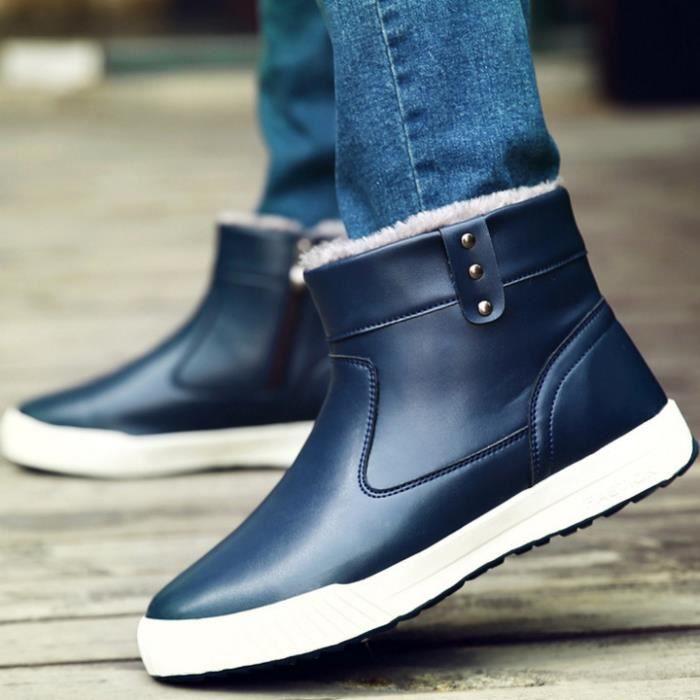 GLAM®de nouvelles bottes d'hiver avec les chaussures de neige les velours chaussures bottes chaudes