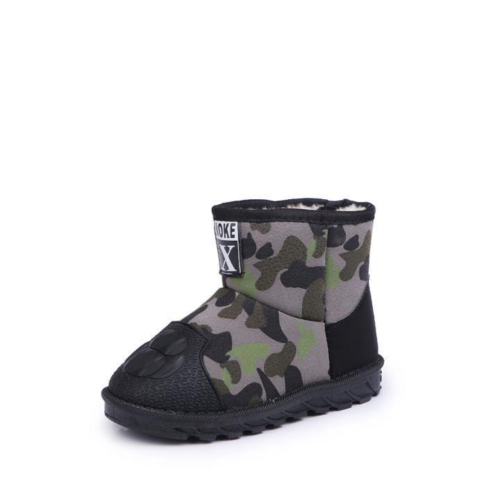 Bottes de neige Camouflage Thicken Chaussures enfants pour enfants 13512140