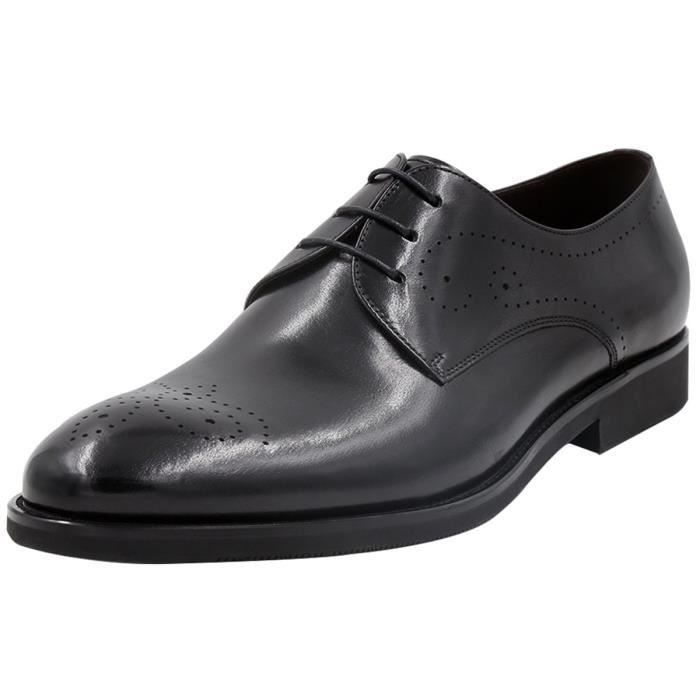 Classique Brogue Hommes Oxford Chaussures habillées en cuir PUGN5 Taille-40 1-2