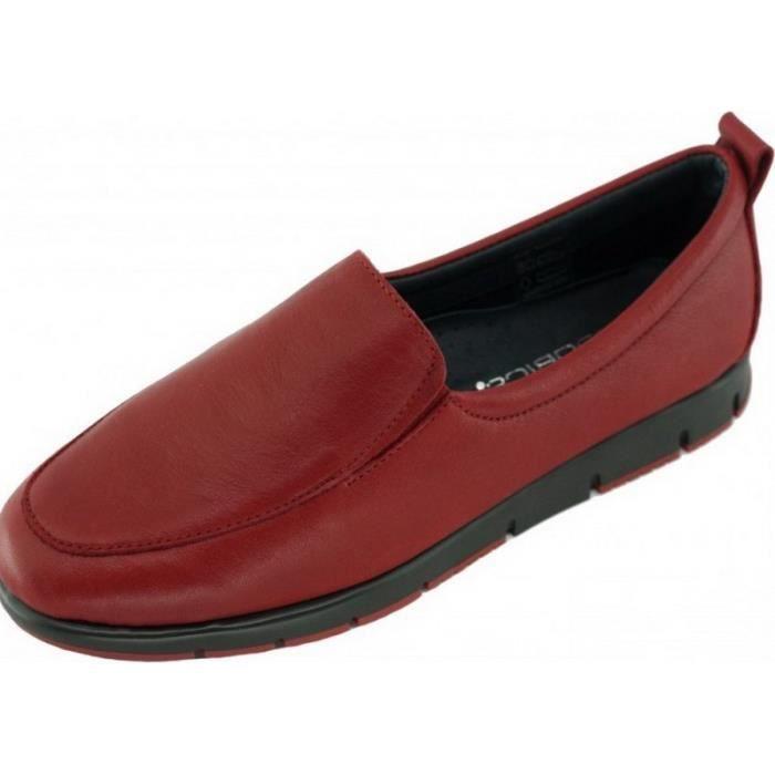 Mocassin chaussures antidérapant sensibles femme Aérobics pieds marque rouge Frog souple confortable cuir sport flexible d4qfXwnSpx