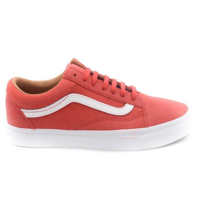 Vans Sneaker mixte art.VN0A38G1MRV Racing Red-True blanc T. 41