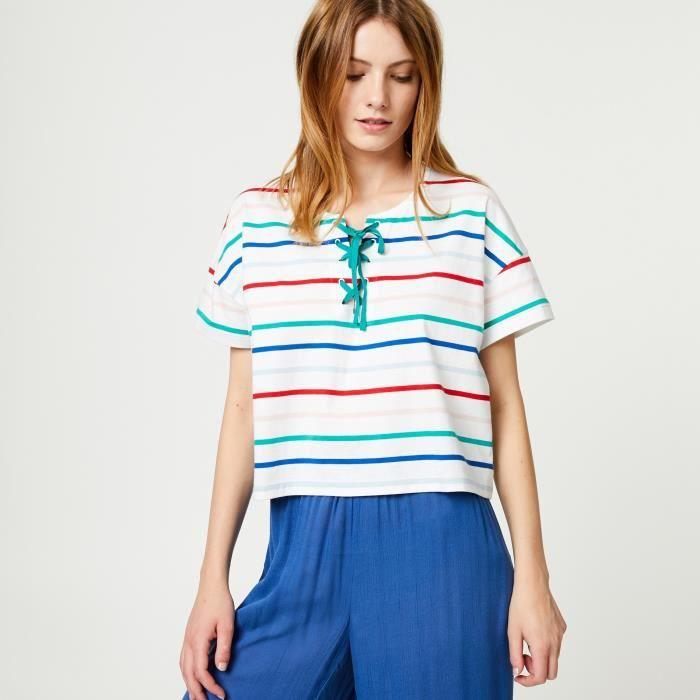 T-SHIRT T-shirt rayé