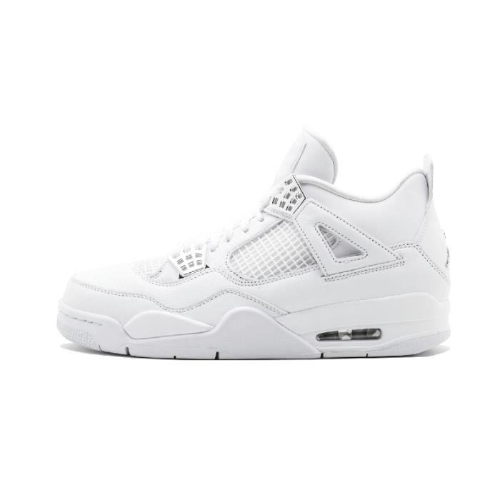 """Air 4 """"pure Pour Jordan Blanc Money""""baskets Homme Chaussures BWredxoQC"""