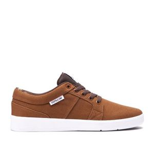 Chaussures brown brown INETO Chaussures SUPRA white Chaussures white INETO SUPRA qxptwvfICn