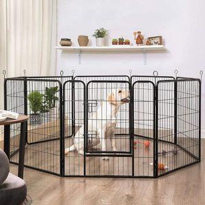enclos chien achat vente enclos chien pas cher cdiscount. Black Bedroom Furniture Sets. Home Design Ideas