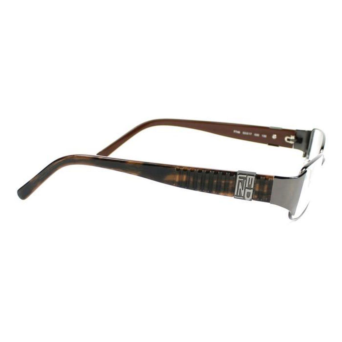 Lunettes de vue Fendi F746 -30 Gunmetal - Marron - Achat   Vente lunettes  de vue Lunettes de vue Fendi F746 Femme Adulte - Cdiscoun c3a84d9b0755