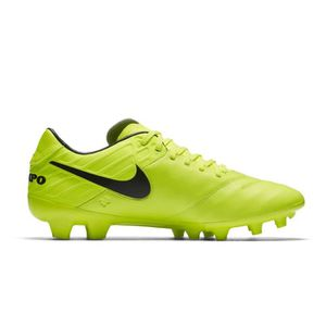 purchase cheap 16737 8d5c7 chaussures football nike tiempo mystic v fg jaune