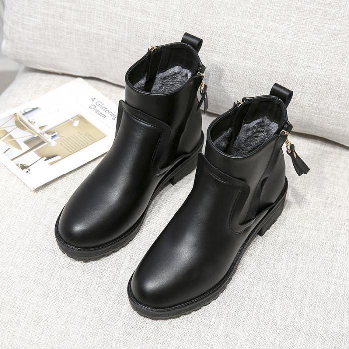 Femme Chaussures Épaissie bottine Loisirs PgvQC6