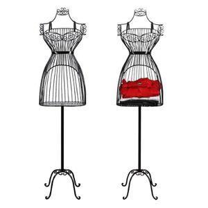 mannequin fer forge achat vente mannequin fer forge pas cher cdiscount. Black Bedroom Furniture Sets. Home Design Ideas