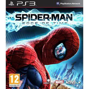 JEU PS3 SPIDER MAN - AUX FRONTIERES DU TEMPS / Jeu PS3