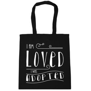 SAC SHOPPING Je suis une femme de Loved I A ETE ADOPTE Tote Sac