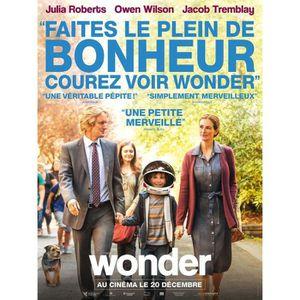 AFFICHE - POSTER Wonder   - 2018 - Julia Roberts, Owen Wilson - 116