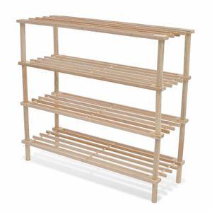 etageres en bois achat vente pas cher. Black Bedroom Furniture Sets. Home Design Ideas