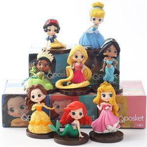 FIGURINE DE JEU 8 pcs figurines: Princesse Ariel, Blanche neige, J
