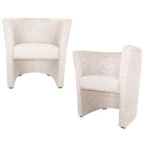 fauteuil cabriolet couleur achat vente pas cher. Black Bedroom Furniture Sets. Home Design Ideas