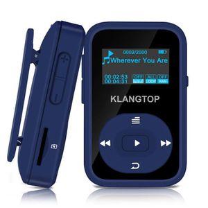 LECTEUR MP3 Joueur musique clip Bluetooth lecteur MP3 8GB avec