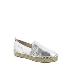 SANDALE - NU-PIEDS Guess Chaussures compensées Rela Silver