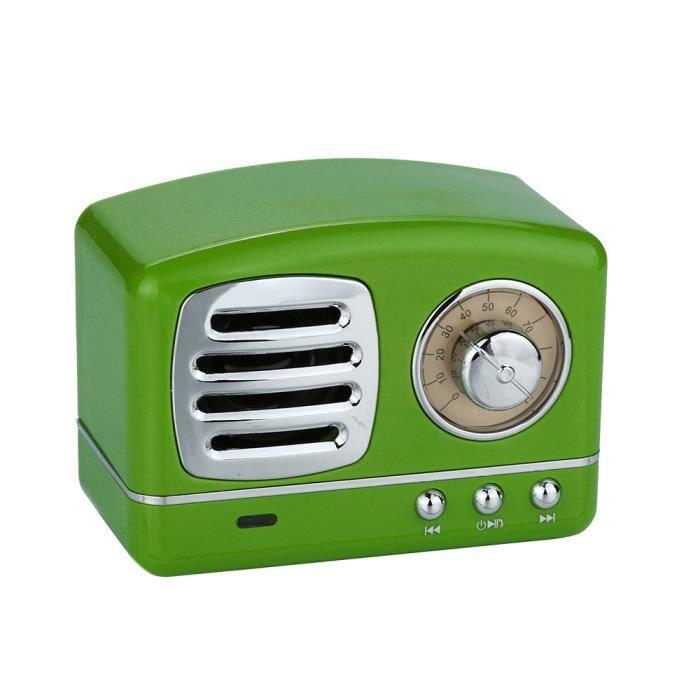 Haut-parleur Portable Bluetooth Sans Fil Audio Stéréo Subwoofer Support De Carte Tf @soko3430