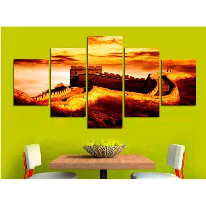 TABLEAU - TOILE 5pcs maison peinture décorative peinture en toile