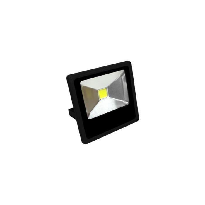 projecteur led blanc chaud 10w achat vente pas cher. Black Bedroom Furniture Sets. Home Design Ideas