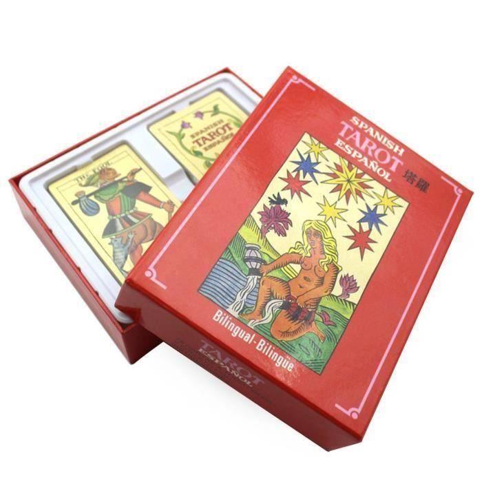 CARTES DE JEU KIN Tarot Cartes espagnol Jeu intellectuel Pour En