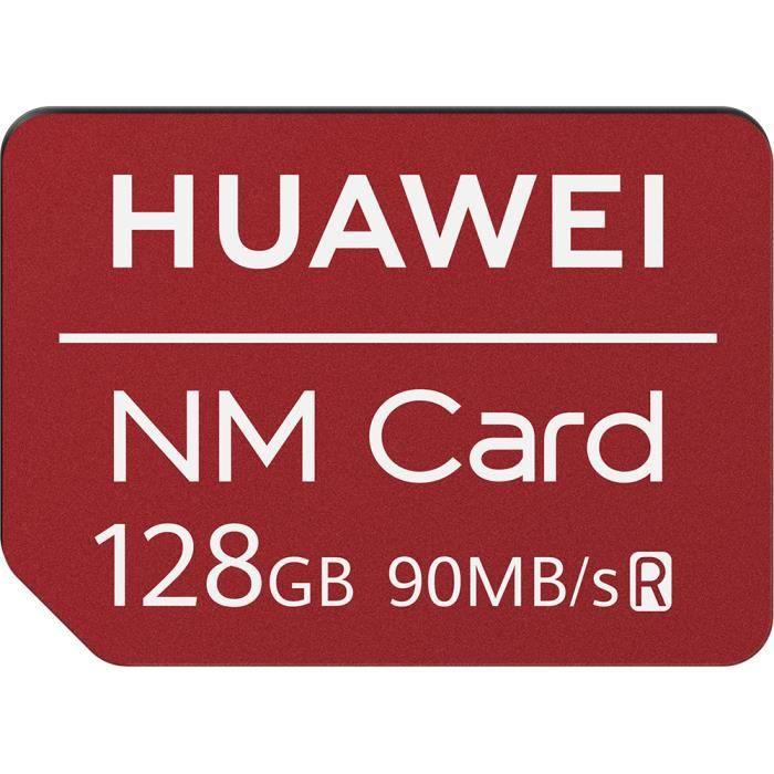 Carte Sd 128 Go.Huawei Carte Memoire Nano Sd 128 Go