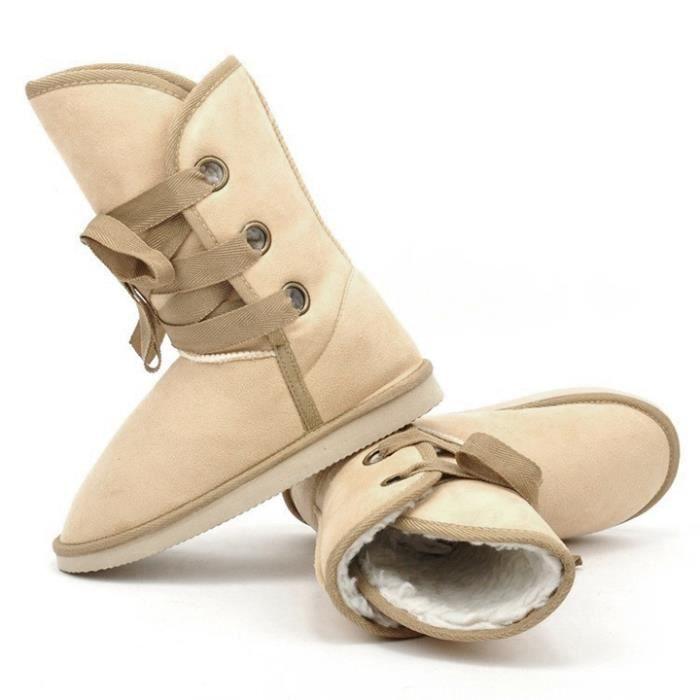 5 couleurs hiver fourrure Snow Boot femmes arti...