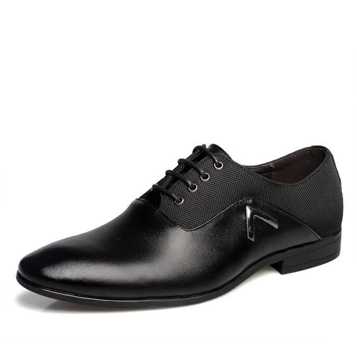 Homme chaussures en cuir Business chaussures ha...