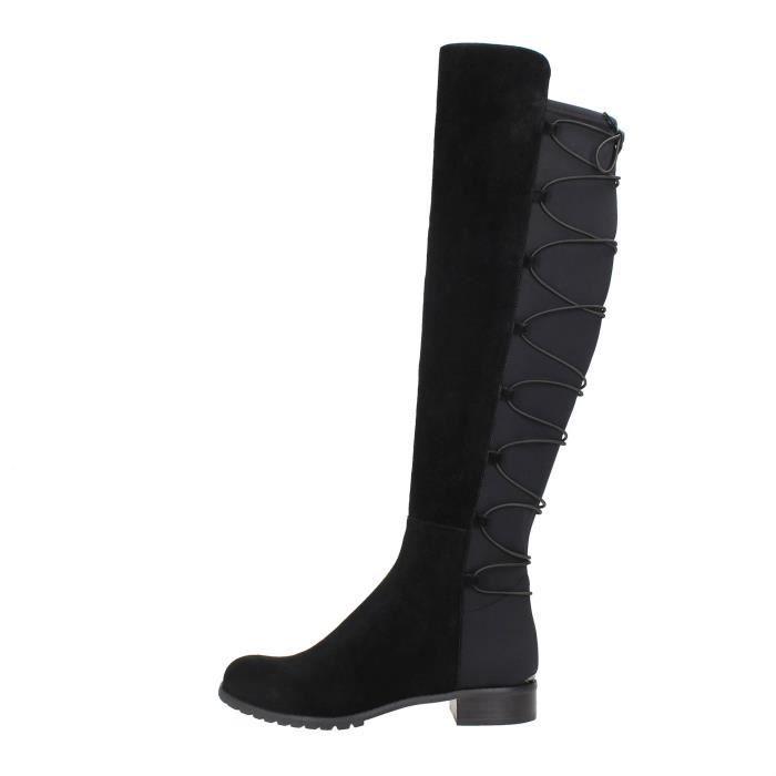 d35e163a06a Michael Kors Bottes Femme BLACK Black - Achat   Vente botte - French ...