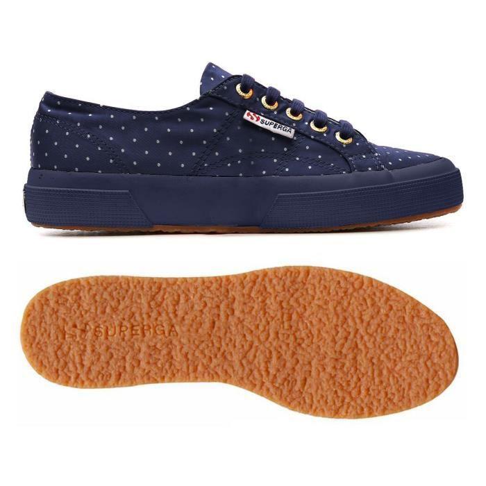 Chaussures 2750-DOTSSATINW pour femme, style classique, imprimé à pois