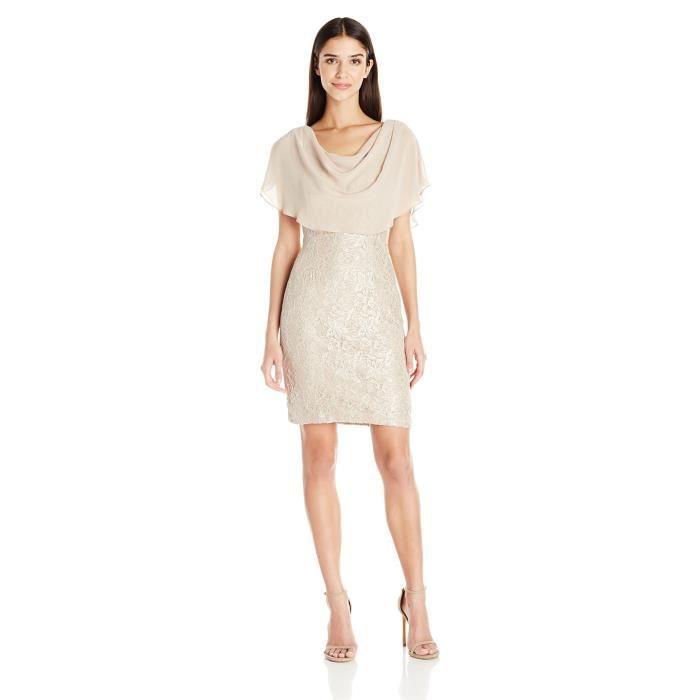 Jessica Howard Robe de coton taille petite femme Y82VE