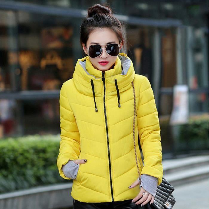 violet Mode jaune rouge Collier Femme Chaud bleu rose vert Haute Noir Doudoune xnS0HwqRx