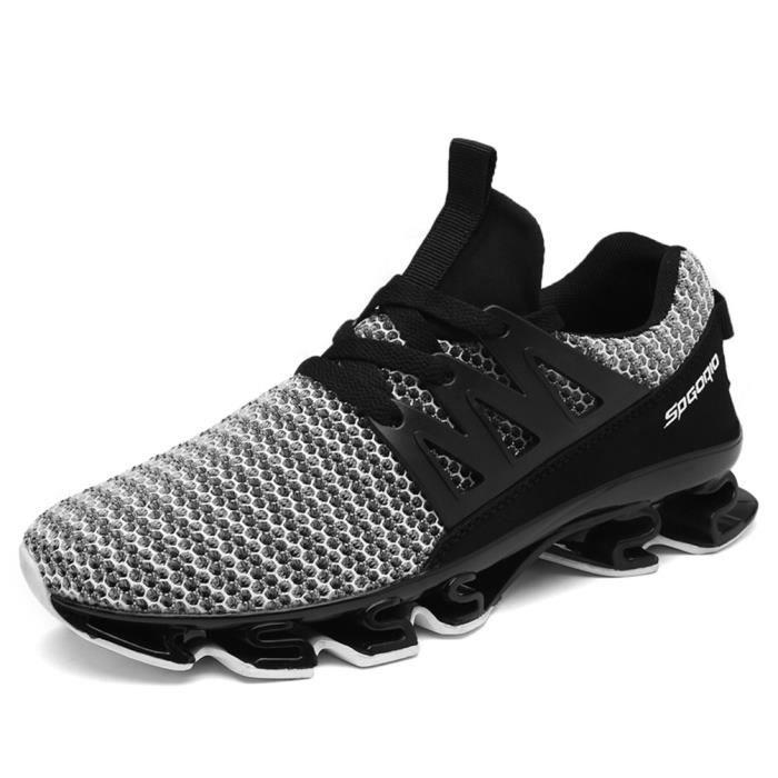 Durable Mode Sneaker Léger Respirant Cool 39 Sneakers Doux Qualité Confortable Nouvelle personnalité Chaussure Homme Supérieure 46 YqgX8rgA