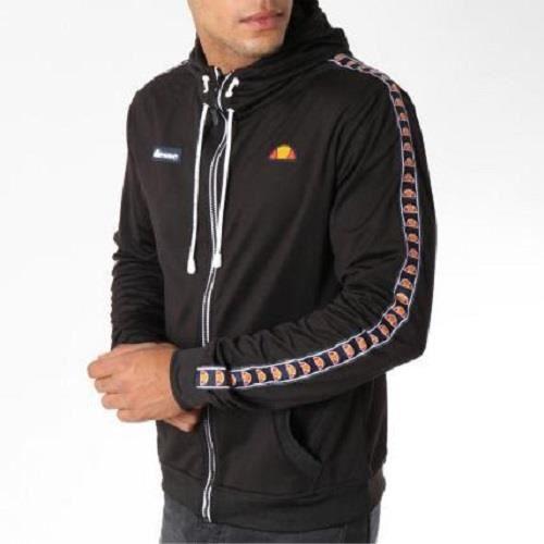 célèbre marque de designer dernière sélection Excellente qualité Veste zippee capuche ellesse noire Noir - Achat / Vente ...
