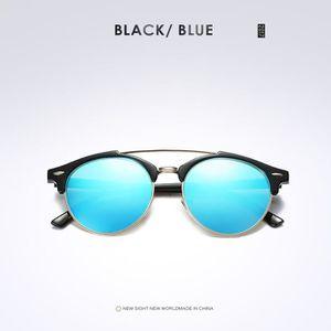 5d580787955296 ... LUNETTES DE SOLEIL Rétro Homme rond polarisée lunettes de soleil pour.  ‹›