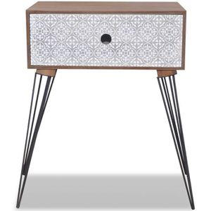 chevet scandinave achat vente pas cher. Black Bedroom Furniture Sets. Home Design Ideas