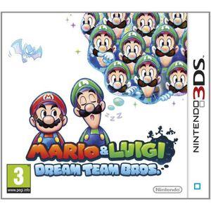 JEU 3DS Mario & Luigi Dream Team Bros Jeu 3DS